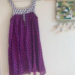 Anthropologie cotton summer dress
